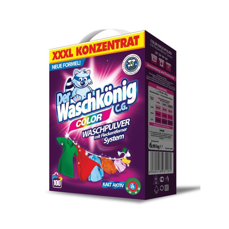 Washing powder Der Waschkönig C.G. Colour 6,9 kg
