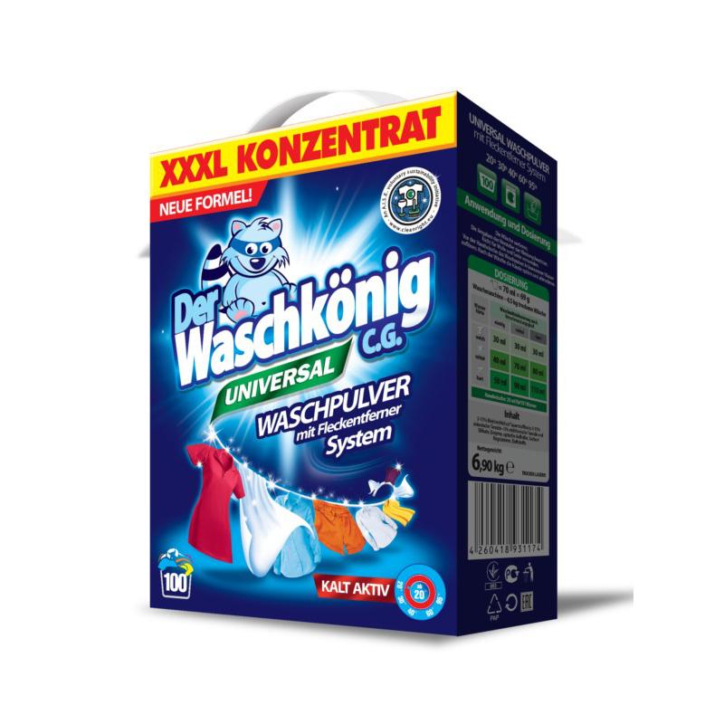 Washing powder Der Waschkönig C.G. Universal 6,9 kg