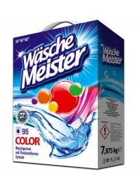 Washing powder WäscheMeister Colour 7,875 kg carton