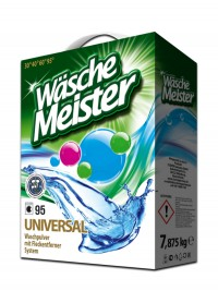 Washing powder WäscheMeister Universal 7,875 kg carton