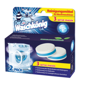 Cleaning tablets for washing machines Der Waschkönig C.G.