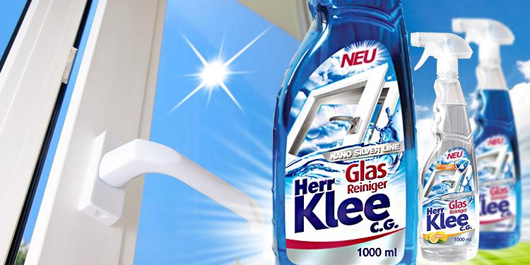 Glass washing liquids Herr Klee C.G. Nano Silver Line