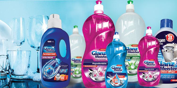 GlanzMeister – an innovative line of washing and cleaning products