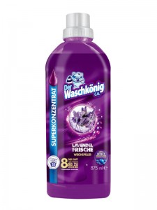 Der Waschkönig C.G. Lavender Frische highly concentrated rinsing liquid 875 ml