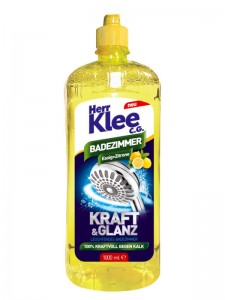 Herr Klee C.G. acetic bathroom cleaner with a lemon scent 1 l
